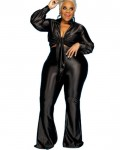 Women's Casual Solid Plus Size Top Pant Outfit Sets