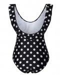 Women's Ruffle Polka Dot Maternity One Piece Swimsuit