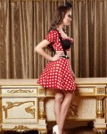 Women's Halloween Sexy Mickey Mouse Costume Sexy Cosplay Clothes