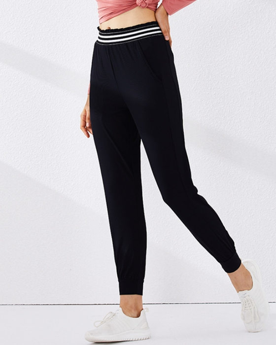 Women's Breathable Sports Pant Quick-Dry Loose Running Fitness Yoga Pant