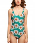 Women's Tummy Control Swimsuit Floral One Piece Bathing Suit